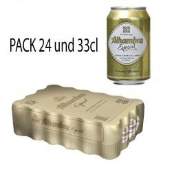 Cerveza Alhambra Especial 24und 33cl