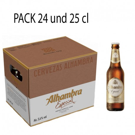 Creveza Alhambra Especial 24und 25cl