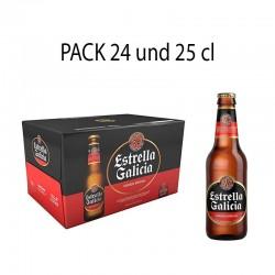 Cerveza Estrella Galicia 24 und 25cl