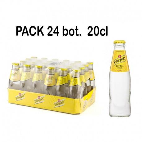 Pack Tonica Schweppes 24 und.